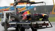Ausnahmeerscheinung: Sebastian Vettels Abflug im nassen Training von Istanbul