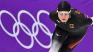 """""""Der Freitag wird ein epischer Tag"""": Claudia Pechstein hofft auf Gold über 5000 Meter."""