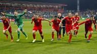 Wales folgt England und Nordirland