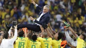 Brasiliens Trainer kritisiert wütenden Messi scharf