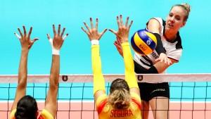 Deutsche Frauen kämpfen sich zum zweiten Sieg
