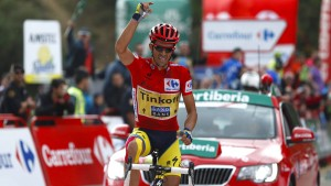 Contador kurz vor Vuelta-Sieg