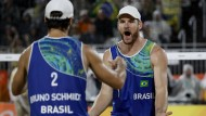 Zwei Beach Boys retten die brasilianische Ehre
