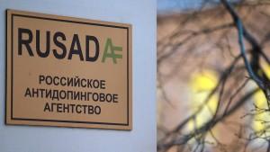 Nada fordert Suspendierung der Rusada