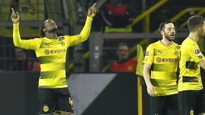 Die Borussia siegt dank Batshuayi