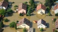 Eine Pflichtversicherung gegen Hochwasser soll es nicht geben