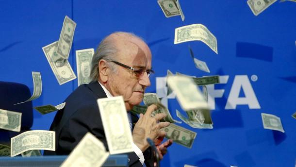 Fifa findet den Geldregen doch nicht lustig