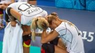 Total doof: Heidemann und Volleyballfrauen scheitern