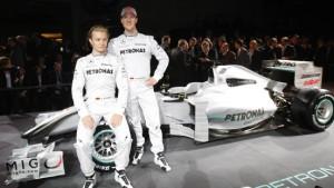 Schumachers Neustart: Mission Schwarz, Rot, Silber
