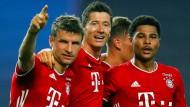 Die Bayern gewannen die Champions League in Lissabon – mehr TV-Zuschauer lockte kein Sport-Event 2020 vor die Bildschirme.