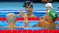 Alle Silber? Das hat auch Michael Phelps noch nicht erlebt.