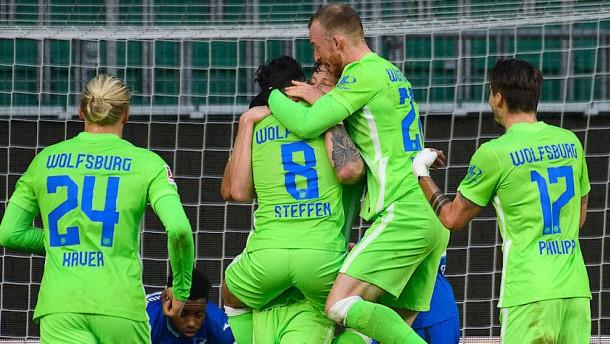 Dramatische Schlussminuten beim Spiel in Wolfsburg