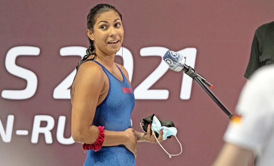 Schwimmen:  Anna Elendt, 19 Jahre