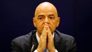 Ein Ablenkungsmanöver der Fifa