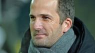 """""""Ich freue mich sehr über das Vertrauen der FCA-Verantwortlichen"""": Cheftrainer Manuel Baum."""