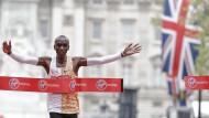 Der schnellste Marathon-Läufer – nicht nur in London: Eliud Kipchoge