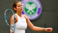 Aus und vorbei: Julia Görges unterliegt Serena Williams.