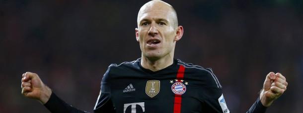 Die Bayern gewinnen auch in Mainz – dank Arjen Robben, der in letzter Minute trifft