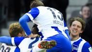 Hertha trifft wieder im eigenen Stadion