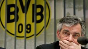 Borussia Dortmund droht Strafanzeige