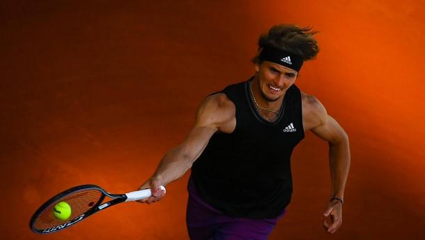 Zverev erstmals im Halbfinale der French Open