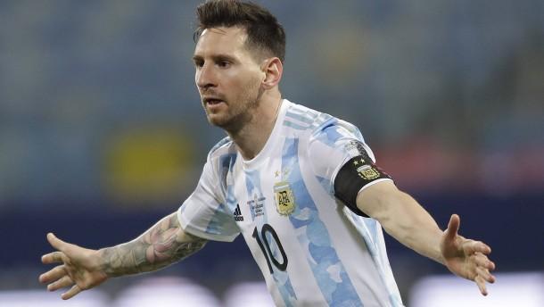 Messi und Argentinien im Halbfinale der Copa América