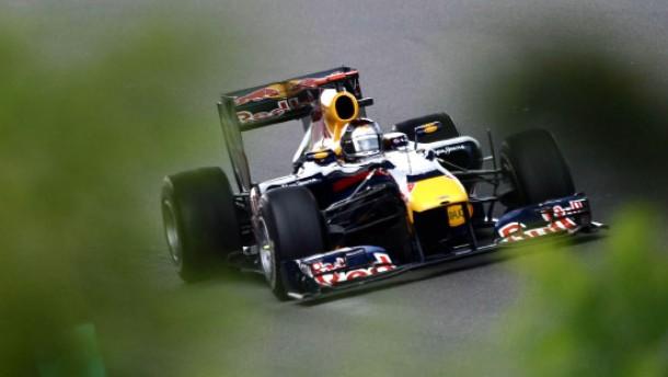 Vettel zum Jubiläum auf der Pole Position