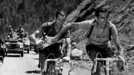 Rivalen und doch Gentlemen: Fausto Coppi (vorne) und Gino Bartali