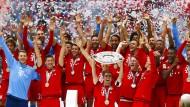 Bayerns Meisterfeier als Routineübung
