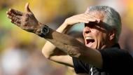 Der Platz an der Sonne in der Bundesliga gefällt Lucien Favre und den Dortmundern.