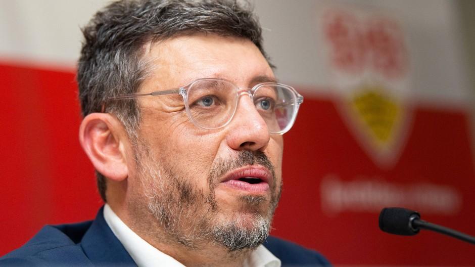 """""""Der VfB Stuttgart befindet sich in der größten internen Krise, die dieser Verein in seiner auch in der Vergangenheit lebhaften Geschichte erlebt hat"""": Claus Vogt"""