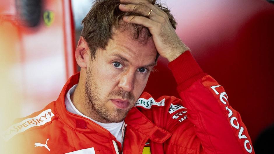 Nachdenklich: Sebastian Vettel