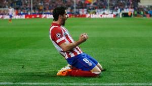 Atlético Madrid setzt sich gegen Milan durch