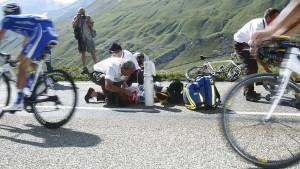 Der Albtraum jedes Radrennfahrers