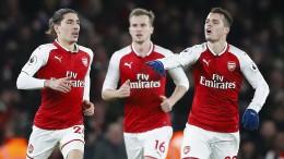 Furioses Remis zwischen Arsenal und Chelsea