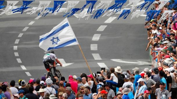 Ein Radrennen als Zeichen der Hoffnung in Israel