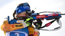 Deutsche Frauen-Staffel Zweite hinter Russland