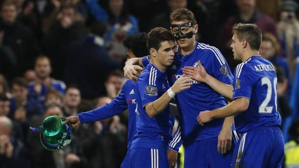 Chelsea gewinnt ohne Mourinho