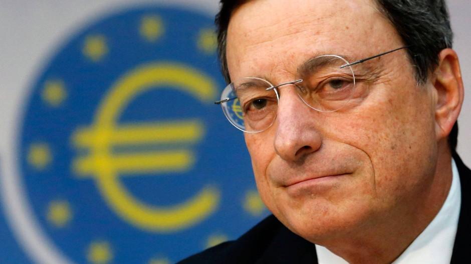 """""""Der Euro ist unumkehrbar"""", sagte EZB-Präsident Mario Draghi"""