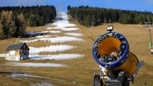 Wie Wintersport ohne Schnee funktioniert