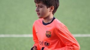 FC Barcelona statt Eintracht – mit elf Jahren