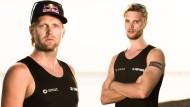 Ein Duo für Rio: Julius Brink (links) und Armin Dollinger