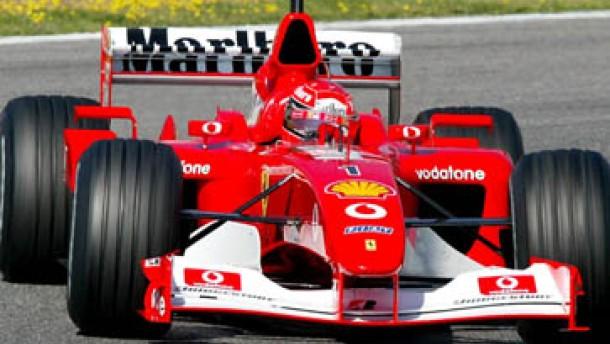 Neuwagen nur für Schumacher: Debüt für Ferrari F2002