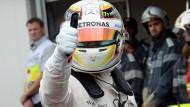 Kein Problem mit dem Selbstbewusstsein: Lewis Hamilton führt die Formel-1-Szene an