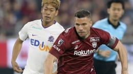 Podolski trumpft zum Abschluss ganz groß auf