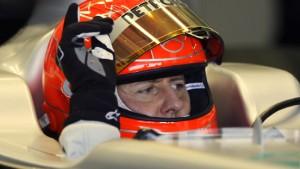 Schumacher auf Anhieb wieder im Rennen
