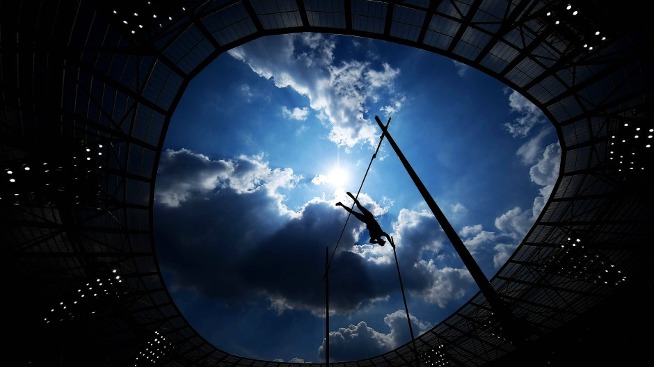 Sprünge im Schatten: Die IAAF hat weiterhin wenig Vertrauen in die russischen Versprechungen.