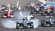 Muss Mercedes jetzt das Startfeld auffüllen?