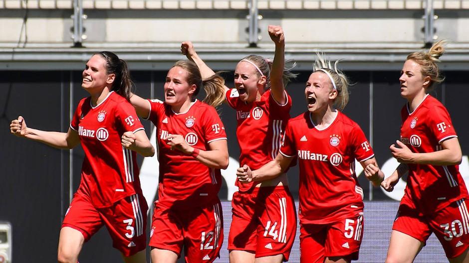 Ein Unentschieden, dass sich für die Bayern-Frauen wie ein Sieg anfühlt.