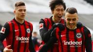 Eintracht Frankfurt darf weiter auf die Champions League hoffen.